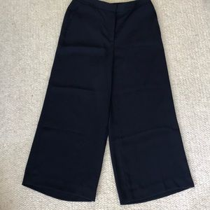 Halogen Wide Leg Crop Pants ~ Size 6